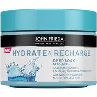 john frieda acondicionador hydrate recharge mascarilla para mujer