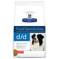 hills dd con salmon prescription diet food sensitivities pienso para perros - 2 x 12 kg - pack ahorro