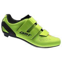 zapatillas ciclismo dmt d6 eu 42 yellow fluo  black