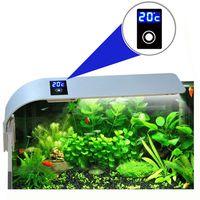 loskii pt-08 acuario tanque de pescados luz led 15w 5730 ahorro de energia lampara enchufe de la ue barra de luces acuat