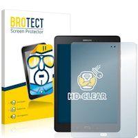 brotect protector pantalla compatible con samsung galaxy tab a 97 sm-t550 2 unidades - transparente