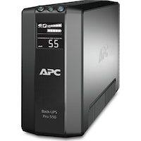 apc back-ups pro sistema de alimentacion ininterrumpida ups linea interactiva 550 va 330 w 6 salid