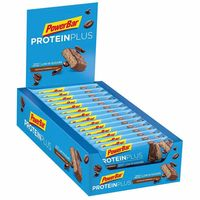 powerbar protein plus bajo en azucar caja 30 unidades