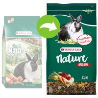 versele-laga original cuni nature comida para conejos - 2 x 9 kg - pack ahorro