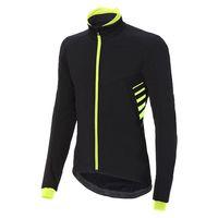 rh chaqueta logo alfa padded xl black  fluo yellow  reflex