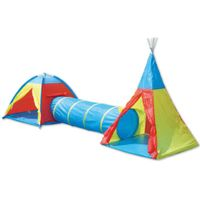 vedes outdoor active por  adventure tent set - de colores