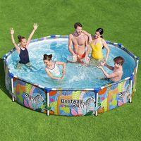 bestway piscina steel pro con estructura 305x66 cm