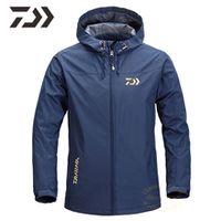 2020 fishing jacket for men spring autumn fishing clothing solid hooded fishing clothes zipper fishing shirt