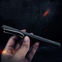 2-in-1 tactical fountain pen and ball-point pen self defense emergency glass breaker outdoor survival edc tool christmas gift