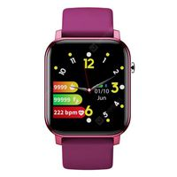 sn87 fitness tracker support swimming bluetooth smart watch diy full touch ultra retina 25d curved screen super fashion metal slim body multi smartwatch -  dark orchid