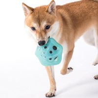 jordan  judy juguetes para mascotas bola grado alimenticio tpr impermeable gato perro bola giratoria bola divertida