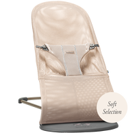 babybjorn hamaca bliss bouncer bliss rosa perla 3d mesh