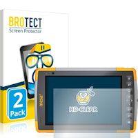 brotect protector pantalla compatible con juniper systems mesa 2 rugged tablet 2 unidades - transparente