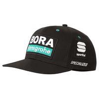 sportful bora hansgrohe snapback one size black  green  white