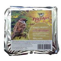 comida para pajaros pfiffikus buffet con cacahuetes - mezcla con cacahuetes - 300 g