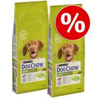 pack ahorro purina dog chow 2 x 14 kg - puppy con pollo