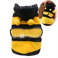 gatos perros disfraces saco y capucha ropa para perro verano primaveraotono animal adorable cosplay amarillo