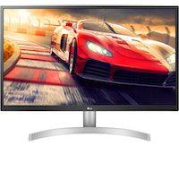 LG 27UL500-W pantalla para PC 68,6 cm (27 pulgadas pulgadas) 4K Ultra HD LED Plana Mate Plata