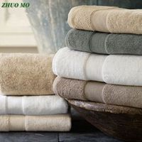 egyptian cotton beach towel terry bath towels bathroom 70140cm 650g thick luxury solid for spa bathroom bath towels for adults