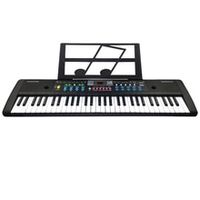 61 keys digital electronic keyboard and microphone electric led music