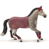 schleich  trakehner espectaculo de caballos de yegua 42456