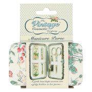 set de manicura floral de the vintage cosmetic company