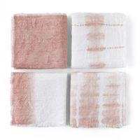 lote de 4 servilletas tie and dye sunrise