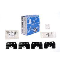4 kits de fijacion barras techo cruz 935-770