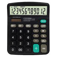 ctttzen calculadora de 12 digitos solar bateria unidad de potencia de doble potencia office escuela equipo