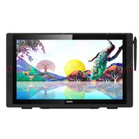 ugee exrai pro 22r digital screen graphics tablet hand-painted board computer drawing display -  black