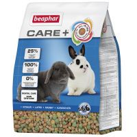 beaphar care comida para conejos - 2 x 5 kg - pack ahorro