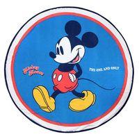 mickey mouse - toalla redonda