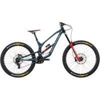 bicicleta nukeproof dissent 297 rs x01 dh 2021 - bottle blue bottle blue
