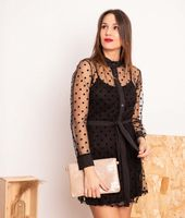 vestido benedi - negro