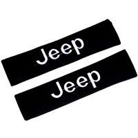 2pcs black universal cotton car seat belt protect pad shoulder protection covers auto accessories