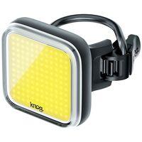 knog blinder square front light - negro negro