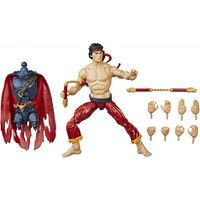 hasbro marvel master of kung fu legends shang-chi 15cm with build-a-figure piece