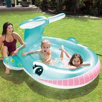 intex piscina whale spray 201x196x91 cm