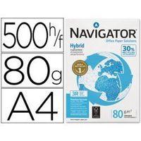 papel multifuncion a4 navigator hybrid 80 gm2