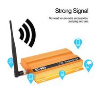 gsm 900mhz mobile phone signal booster repeater amplifier  yagi aerial full-duplex single-port design at-980