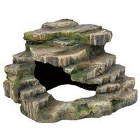 trixie roca esquinera 26x20x26 cm resina de poliester 76196
