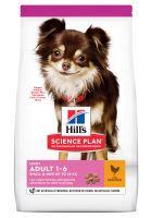 hills adult 1-6 light small  mini science plan con pollo  - 6 kg