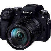 panasonic lumix dmc-g7h  g vario 14-140mm milc 16 mp live mos 4592 x 3448 pixeles negro
