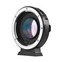 adaptador de montaje de lente de foco automatico viltrox ef-m2