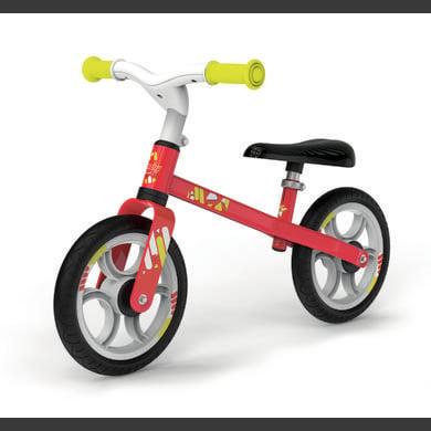 smoby  bicicleta de aprendizaje primera bici roja - rojo
