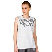 gsa camiseta sin mangas hydro workout s star white