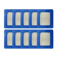 10 pack 491588s air filter replace for briggs stratton 491588 4915885 flat air cleaner cartridge lawn mower filter