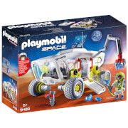 playmobil space mars research vehicle with interchangeable attachments 9489