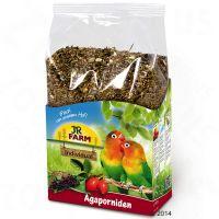 jr farm individual para agapornis - 1 kg