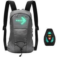 luz led de senal inalambrica indicador de direccion luz led recargable por usb senal de giro luz adjunta a la mochila